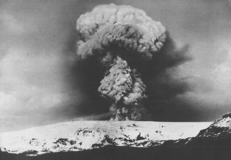 Katla erupts 1918